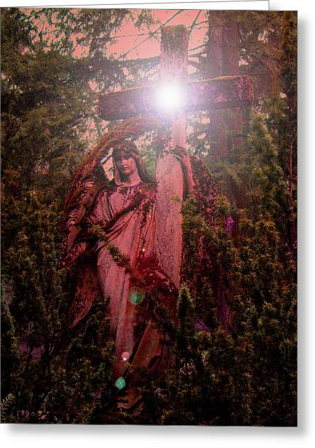 Seraphim Angel Greeting Cards - Guardian No. 02 Greeting Card by Ramon Labusch