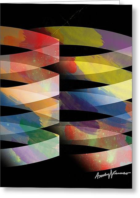 Anthony Caruso Greeting Cards - Guggenheim Greeting Card by Anthony Caruso