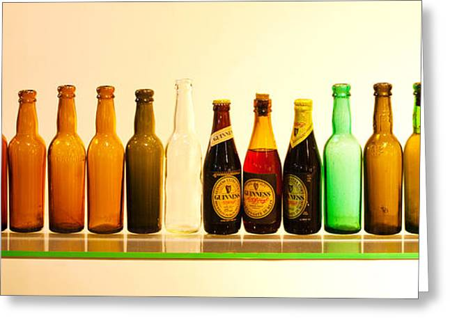 Beer Bottle Greeting Cards - Guinness Brewery-Dublin Greeting Card by John Galbo