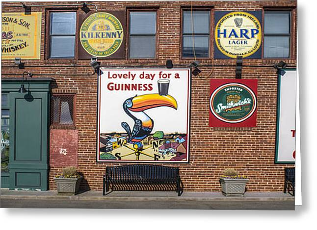 Medieval Temple Greeting Cards - Guinness Greeting Card by F Leblanc