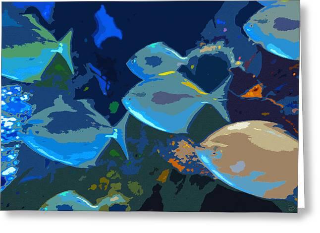 Gulf Stream Greeting Card by David Lee Thompson