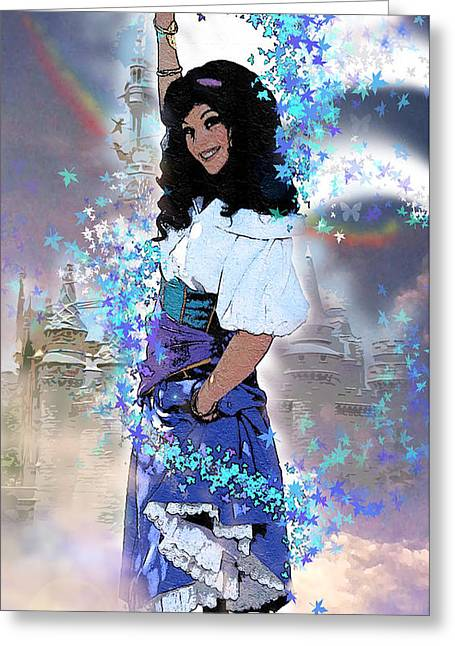 Gypsy Greeting Cards - Gypsy Dreams Greeting Card by James Deaton Store