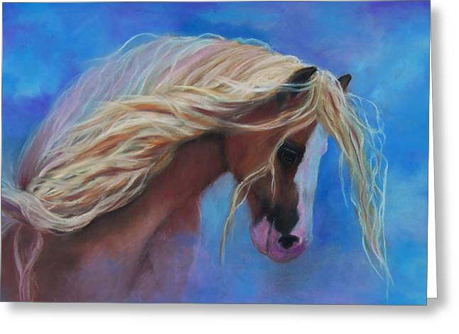 Chatham Pastels Greeting Cards - Gypsy In The Wind Greeting Card by Karen Kennedy Chatham