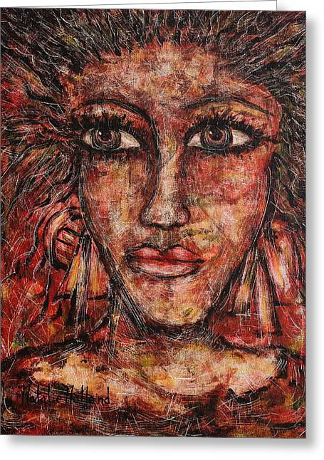 Natalie Holland Greeting Cards - Gypsy Greeting Card by Natalie Holland