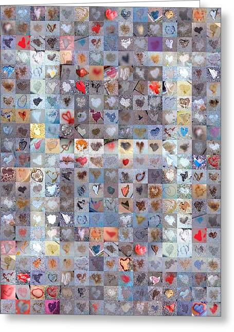 Found Greeting Cards - H in Confetti Greeting Card by Boy Sees Hearts