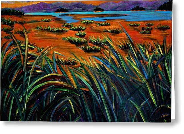 Haida Gwaii Sunrise Greeting Card by Faye Dietrich