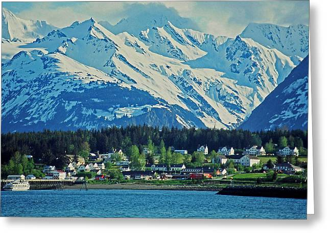 Haines - Alaska Greeting Card by Juergen Weiss