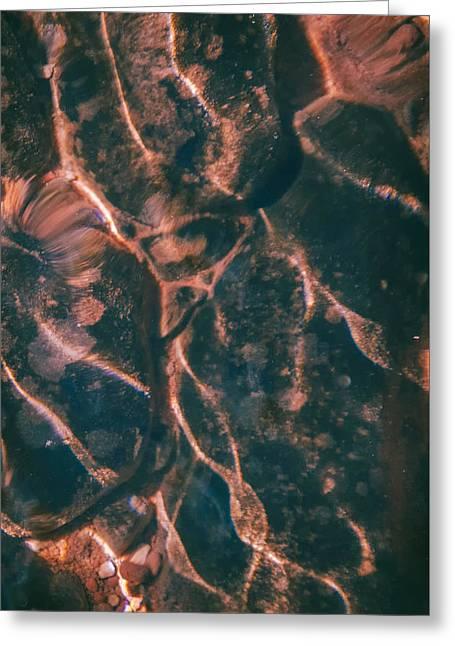 Abstract Digital Pyrography Greeting Cards - Hakuna Matata Greeting Card by Artist Jacquemo