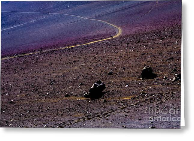 Greeting Card featuring the photograph Haleakala 2 by M G Whittingham