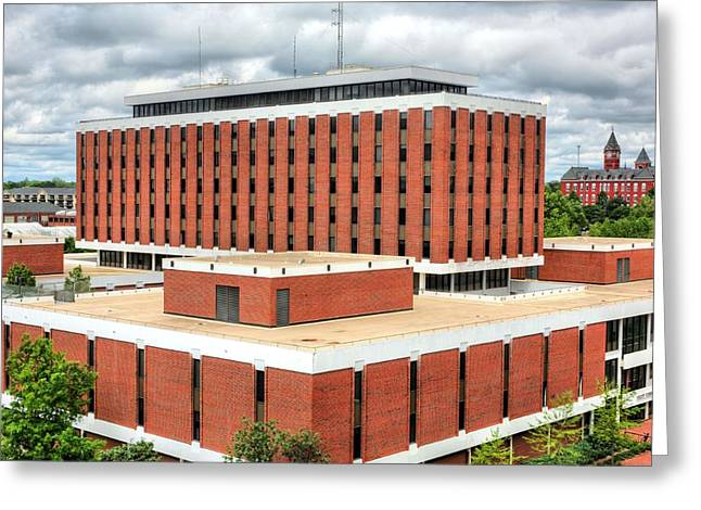 Haley Center At Auburn University  Greeting Card by JC Findley