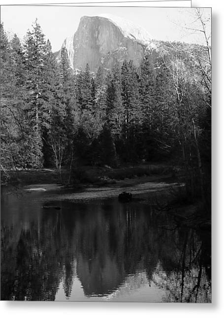 Heidi Smith Greeting Cards - Half Dome Reflection  Greeting Card by Heidi Smith