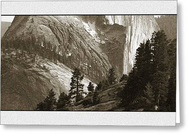 Special Moment Greeting Cards - Half Dome Greeting Card by Thomas Bomstad