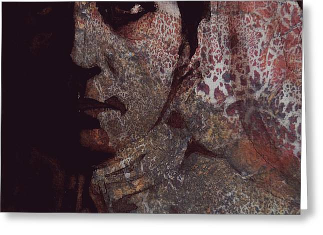 Freedom Mixed Media Greeting Cards - Hallelujah Freedom Greeting Card by Paul Lovering