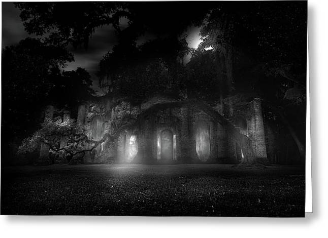 Hallowed Greeting Card by Mark Andrew Thomas