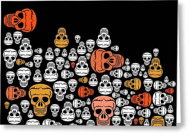 Halloween Greeting Card by Mark Ashkenazi