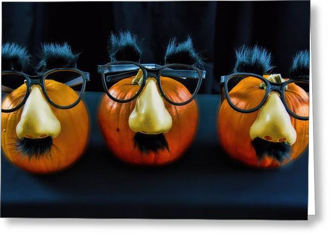 Party Invite Greeting Cards - Halloween Party Greeting Card by Henry Kowalski