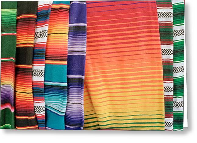 Hammocks, Akumal, Quintana Roo, Mexico Greeting Card by Panoramic Images