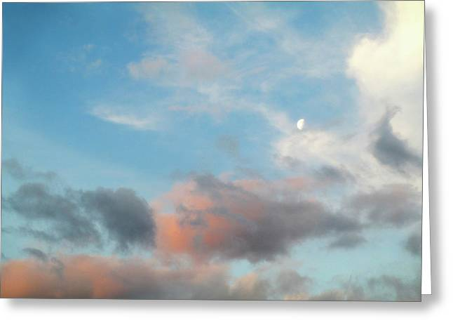 Hampshire Sky Greeting Card by The Rambler