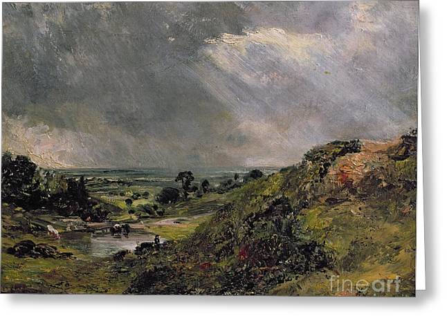 Hampstead Heath Greeting Card by John Constable