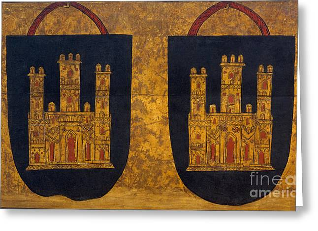 Anonymous Paintings Greeting Cards - Handbags Greeting Card by Celestial Images