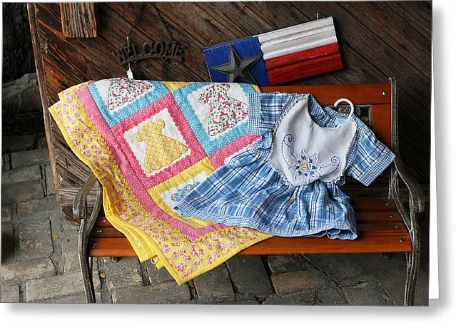 Country Store Greeting Cards - Handmade Crafts Greeting Card by Linda Phelps