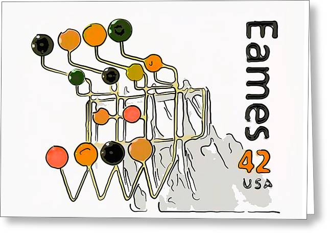 Manufacturing Paintings Greeting Cards - Hang-it-all Greeting Card by Lanjee Chee