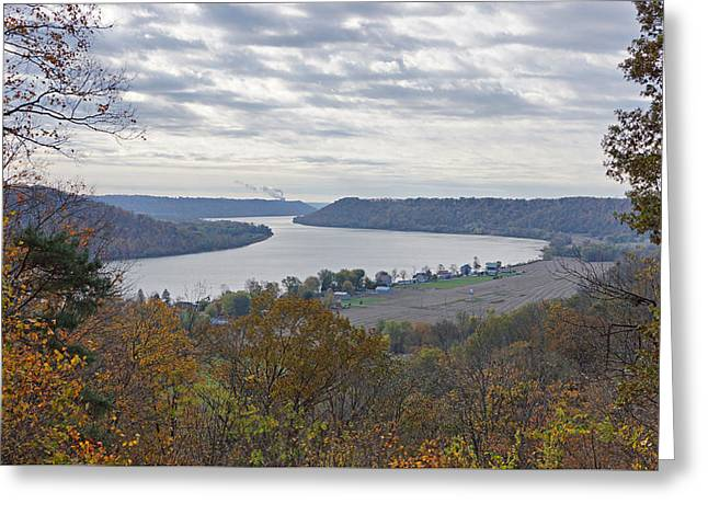Indiana Autumn Greeting Cards - Hanover College View Greeting Card by Sandy Keeton