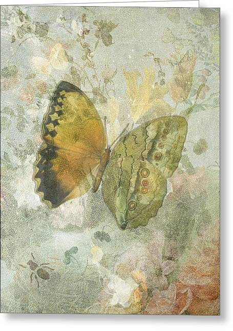Sarah Vernon Greeting Cards - Happiness is a Butterfly Greeting Card by Sarah Vernon