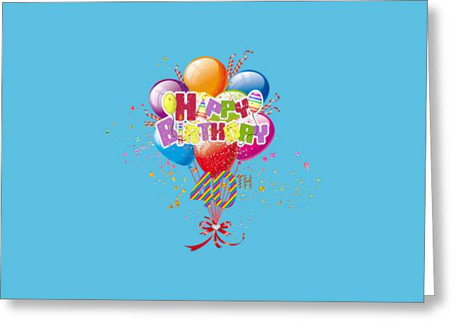"""red Balloon"" Greeting Cards - Happy 40th Birthday Greeting Card by DMiller"