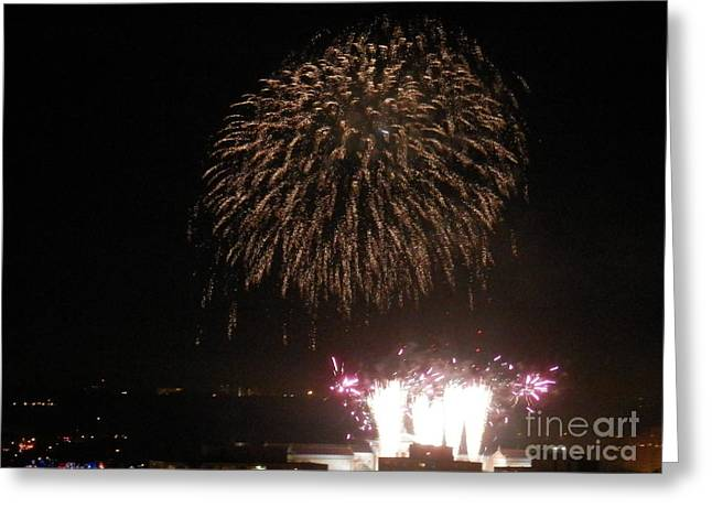 4th July Photographs Greeting Cards - Happy 4th of July Greeting Card by Hammel