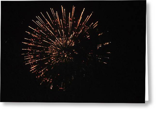4th July Greeting Cards - Happy 4th.from Palm Desert 1 Greeting Card by Jay Milo
