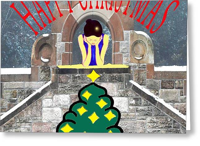 HAPPY CHRISTMAS 31 Greeting Card by Patrick J Murphy