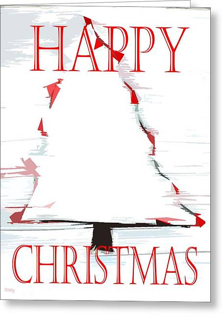 Christmas Art Greeting Cards - Happy Christmas 49 Greeting Card by Patrick J Murphy
