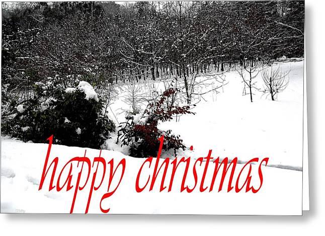 Christmas Art Greeting Cards - Happy Christmas 57 Greeting Card by Patrick J Murphy
