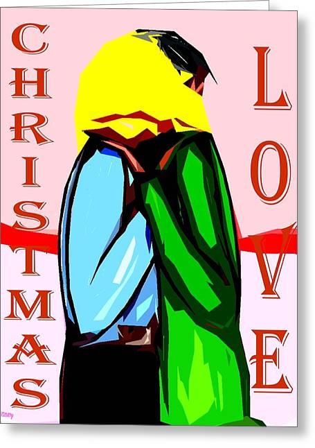 Christmas Art Greeting Cards - Happy Christmas 72 Greeting Card by Patrick J Murphy