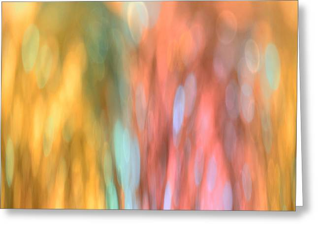 Shower Curtain Greeting Cards - Happy Dreams Greeting Card by Marianna Mills