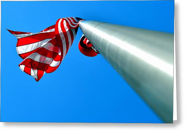 Usa Photographs Greeting Cards - Happy Fourth Greeting Card by Adrian Vajiac