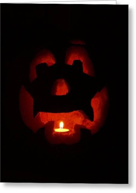 Jack O Lanterns Jackolantern Greeting Cards - Happy Halloween Jack o Greeting Card by Tina Barnash