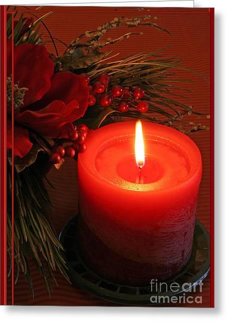 Christmas Greeting Photographs Greeting Cards - Happy Holidays #1 Greeting Card by Teresa Zieba