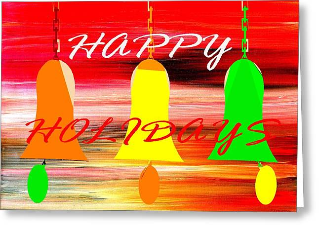 Happy Holidays 11 Greeting Card by Patrick J Murphy