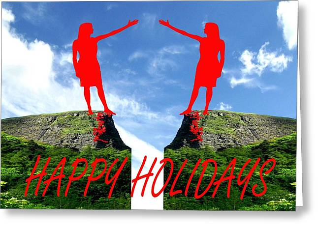 Family Love Greeting Cards - Happy Holidays 42 Greeting Card by Patrick J Murphy