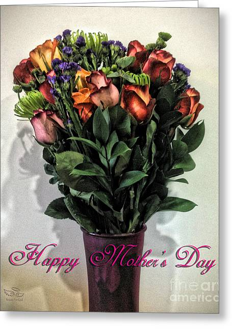 Daughter Gift Greeting Cards - Happy Mothers Day Greeting Card by Beauty For God