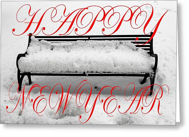 Celebration Art Print Greeting Cards - Happy New Year 26 Greeting Card by Patrick J Murphy