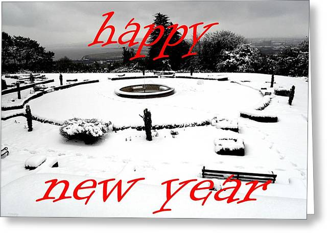 Celebration Art Print Greeting Cards - Happy New Year 31 Greeting Card by Patrick J Murphy