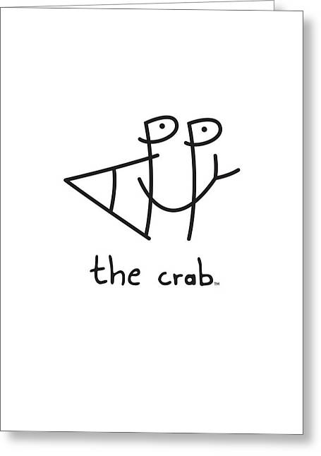 Pa Greeting Cards - HappyTheCrab.com Greeting Card by Chris N Rohrbach