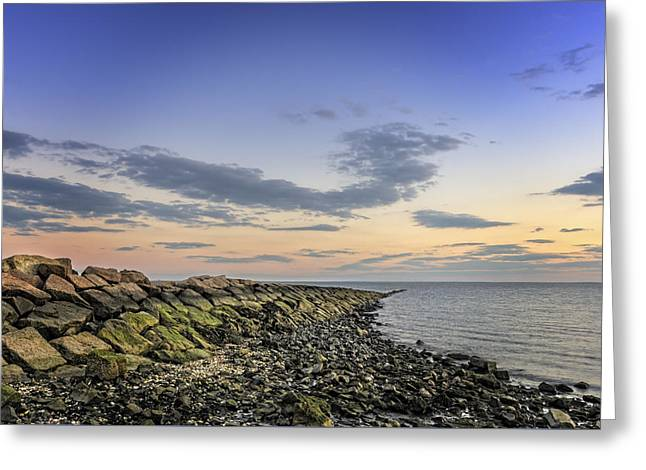 Beach Photos Greeting Cards - Harbor Hues Greeting Card by Simmie Reagor