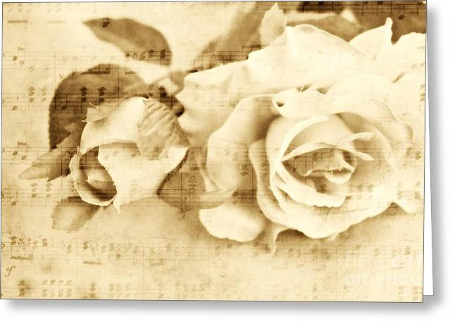 Harmony In Beauty Greeting Card by Clare Bevan