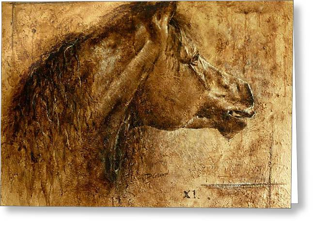 Barok Greeting Cards - Harmony Greeting Card by Paula Collewijn -  The Art of Horses