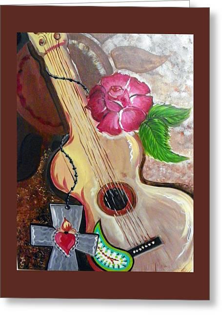 Harmony Greeting Card by Roseann Amaranto