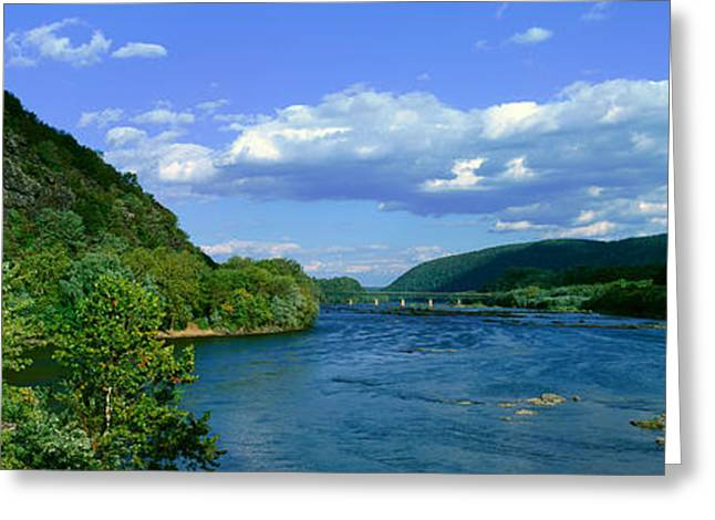 Harpers Ferry, West Virginia Greeting Card by Panoramic Images